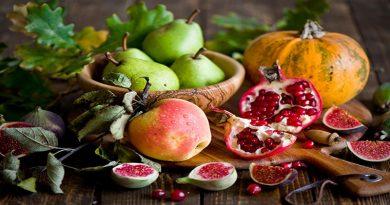 خوراکی های فصل پاییز