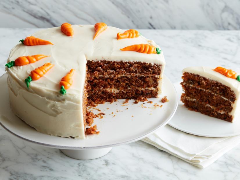 کیک هویج خانگی