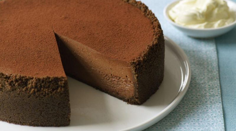 چیز کیک کاکائویی