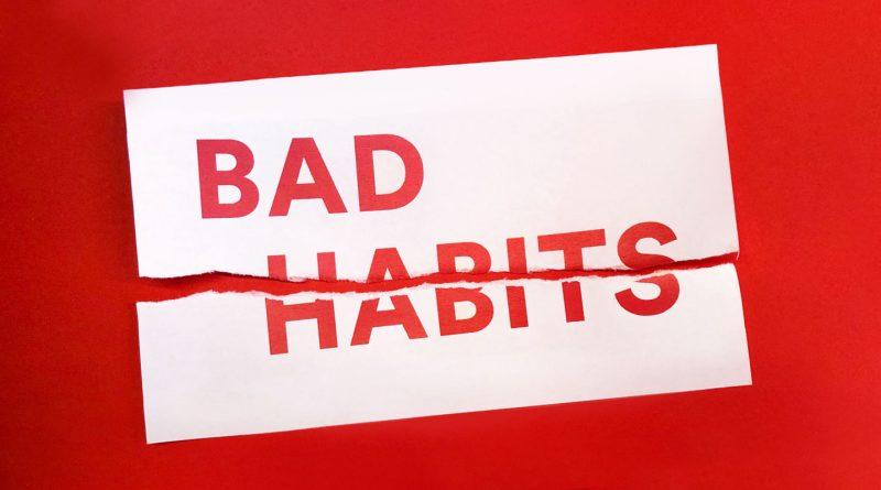 عادت های بد