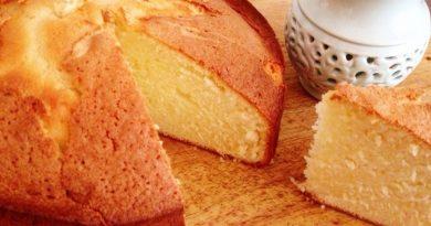 کیک شیر داغ
