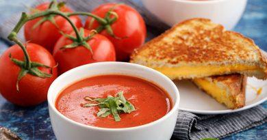 سوپ گوجه فرنگی