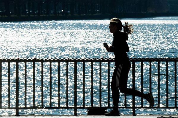 ورزش کردن در هوای گرم