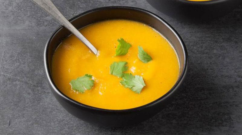 سوپ هویج وگن