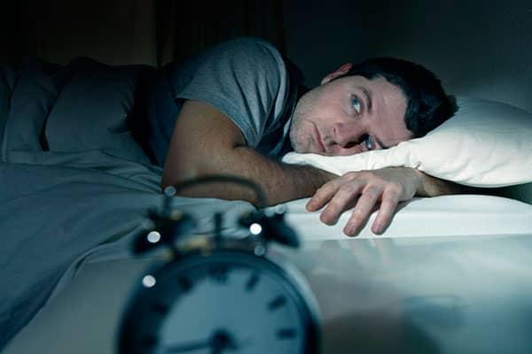 خواب بد شبانه و تغذیه