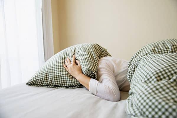 تنفس قبل از خواب