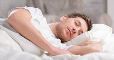 تمرین تنفس قبل از خواب