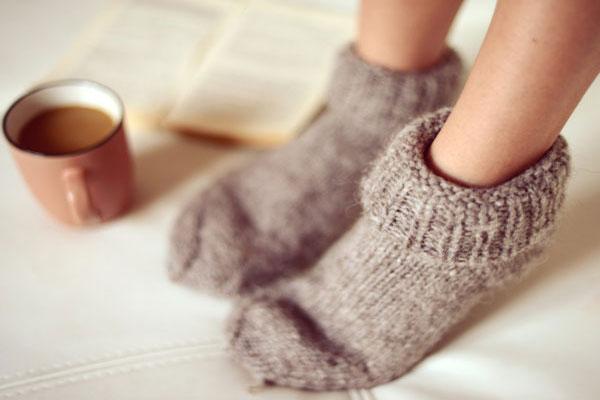 درمان پاهای سرد
