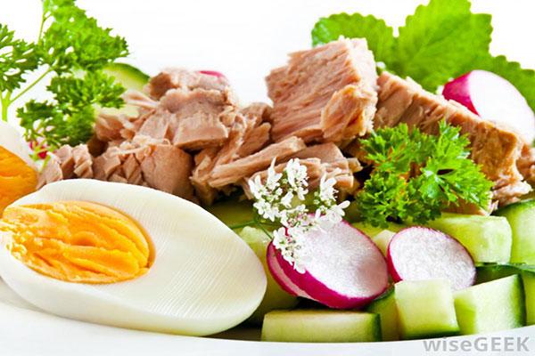 سفیده تخم مرغ منبع پروتئین کم چربی