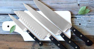 فرورفتگی روی چاقو